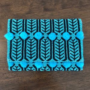 Anthropologie Beaded Clutch / Purse
